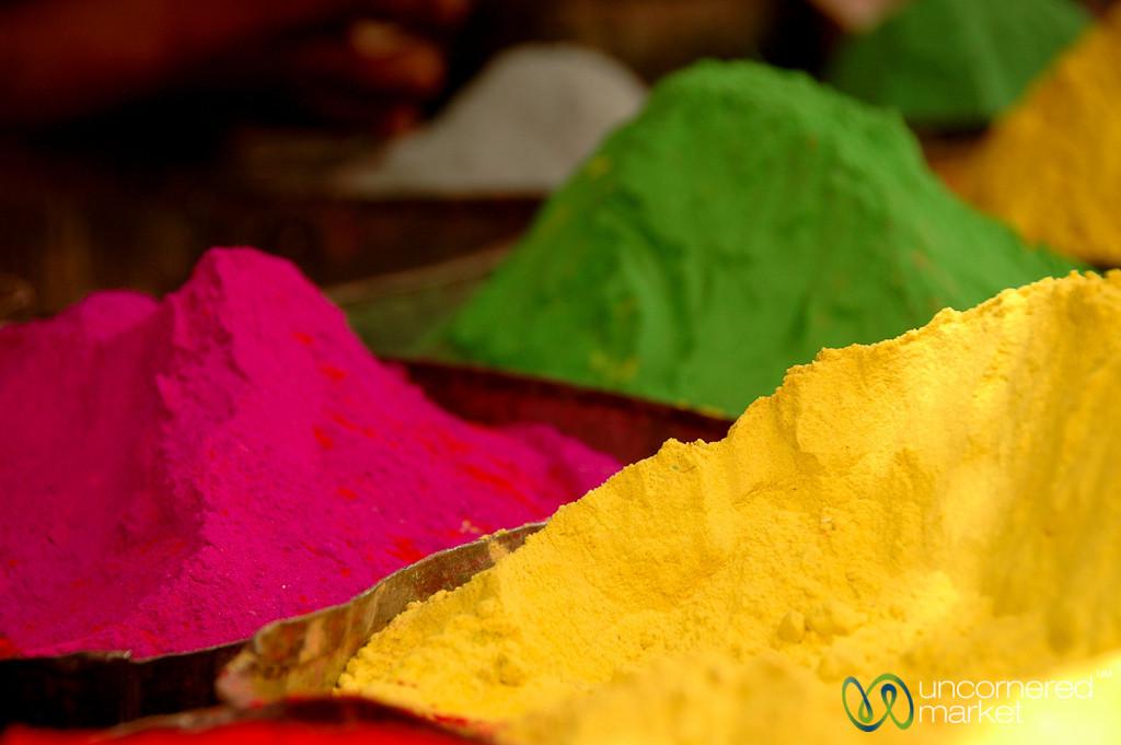 Piles of Coloring - Bikaner, India