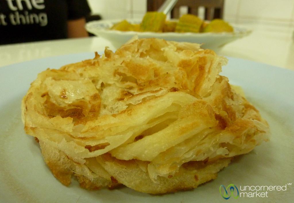 Roti and Curry - Krabi, Thailand