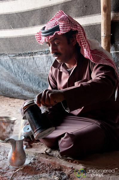Bedouin Coffee Culture - Wadi Rum, Jordan