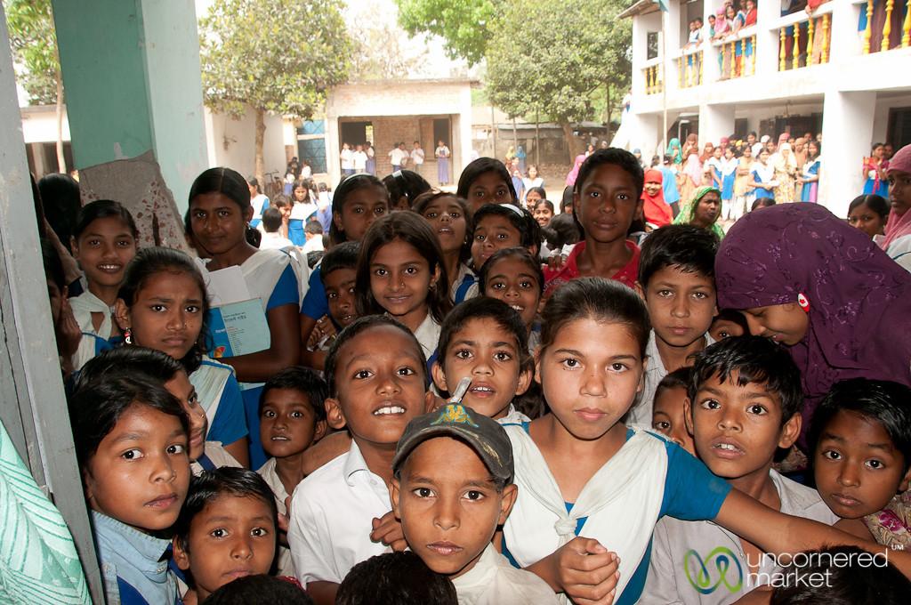 Students at Rural School - Hatiandha, Bangladesh