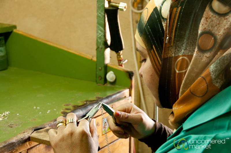 Handmade Jewelry - Dana Reserve, Jordan