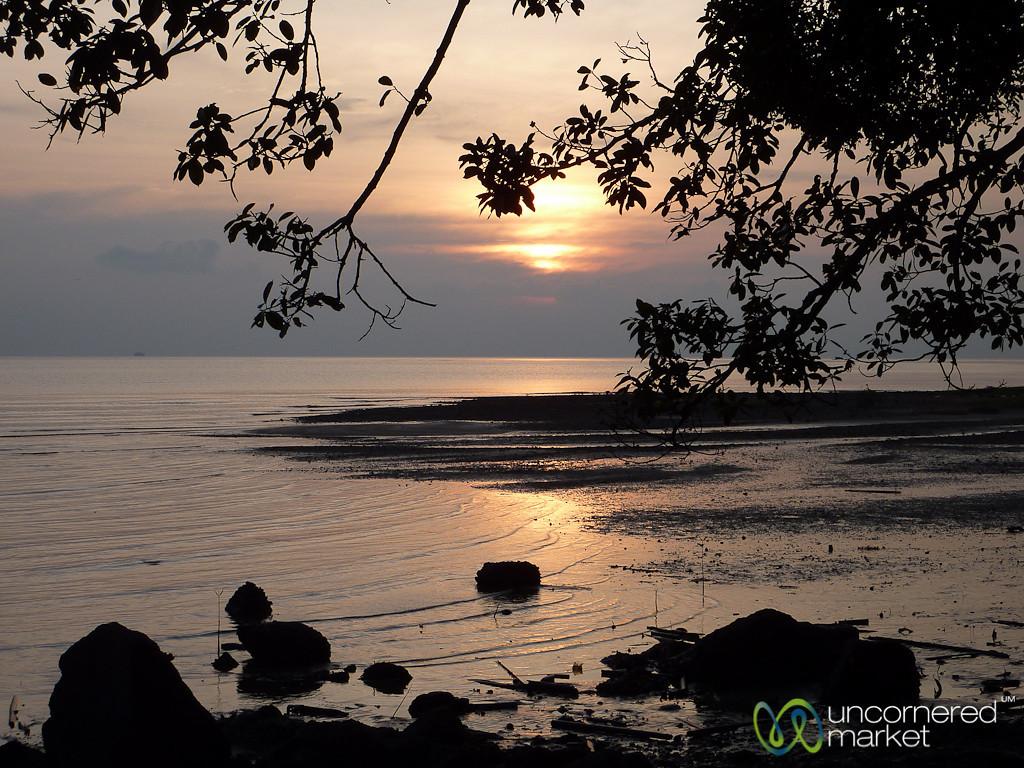 Sunset Near Our House on Koh Samui, Thailand