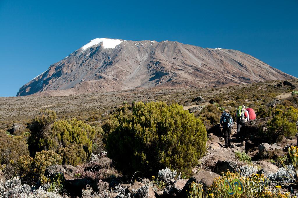 Getting Closer to Uhuru Peak - Mt. Kilimanjaro, Tanzania