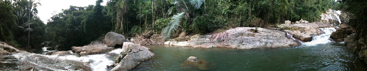 Flat Panorama: Hin Lat Waterfall, Ko Samui