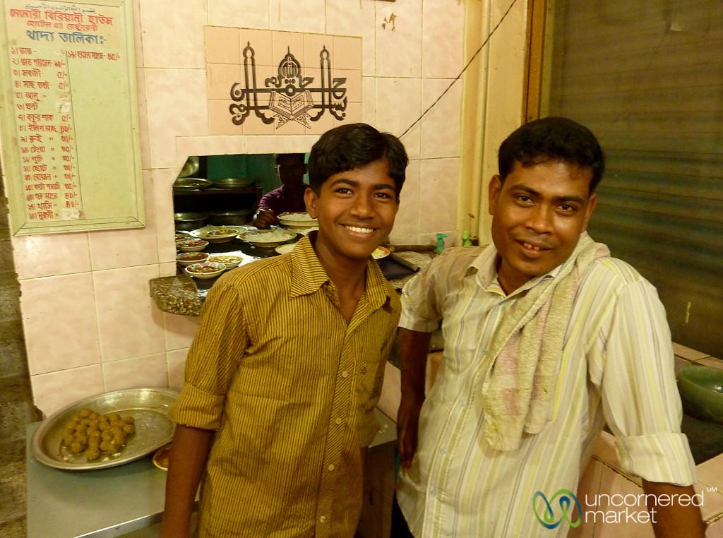 Typical Local Restaurant - Rajshahi, Bangladesh