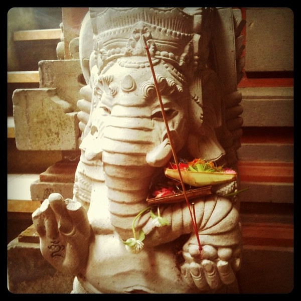 Good morning Ganesh - Ubud, Bali