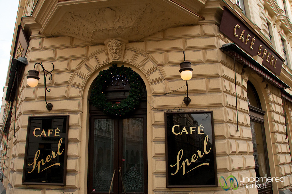 Cafe Sperl is a Traditional Viennese Coffee House