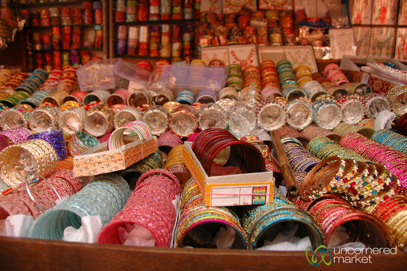 Endless Selection of Bangles - Kolkata, India