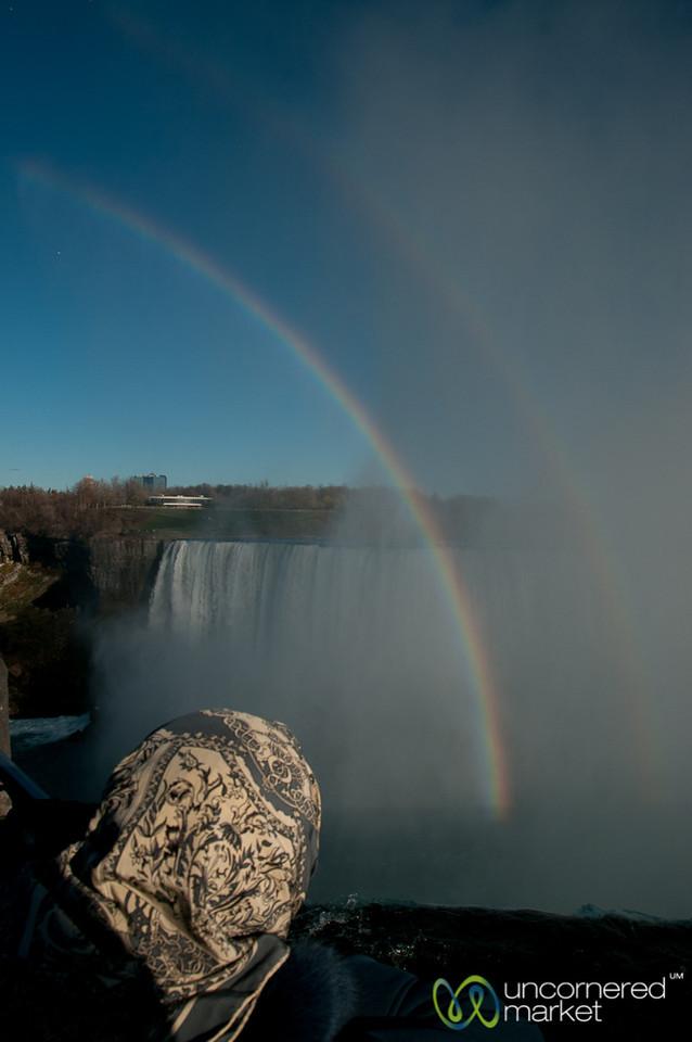 Double Rainbow Over Niagara Falls - Canada
