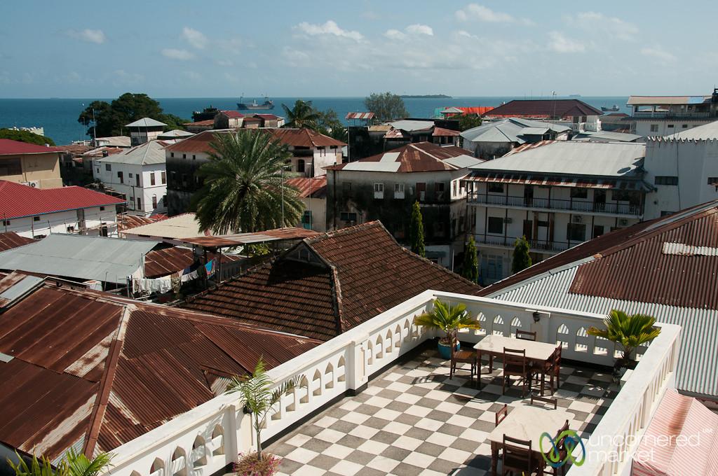 Rooftop View of Stone Town - Zanzibar, Tanzania