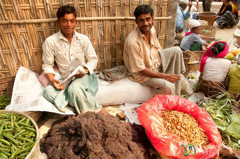 Vendors at the Bandarban Market - Bangladesh