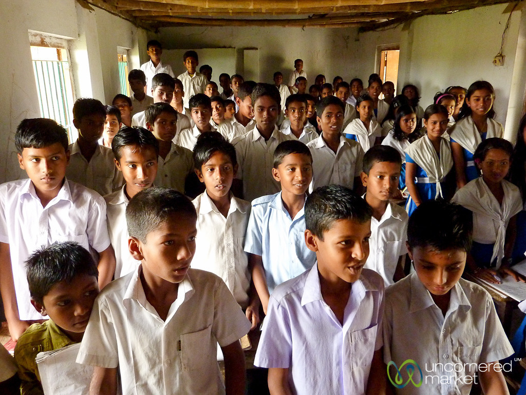 Classroom Full of Eager Students - Nalbata, Bangladesh