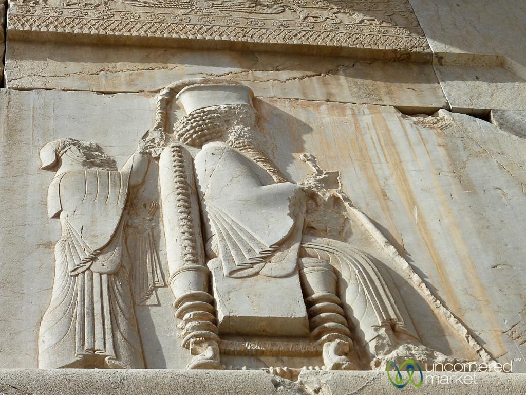 Crowning the Achaemenid King - Persepolis, Iran