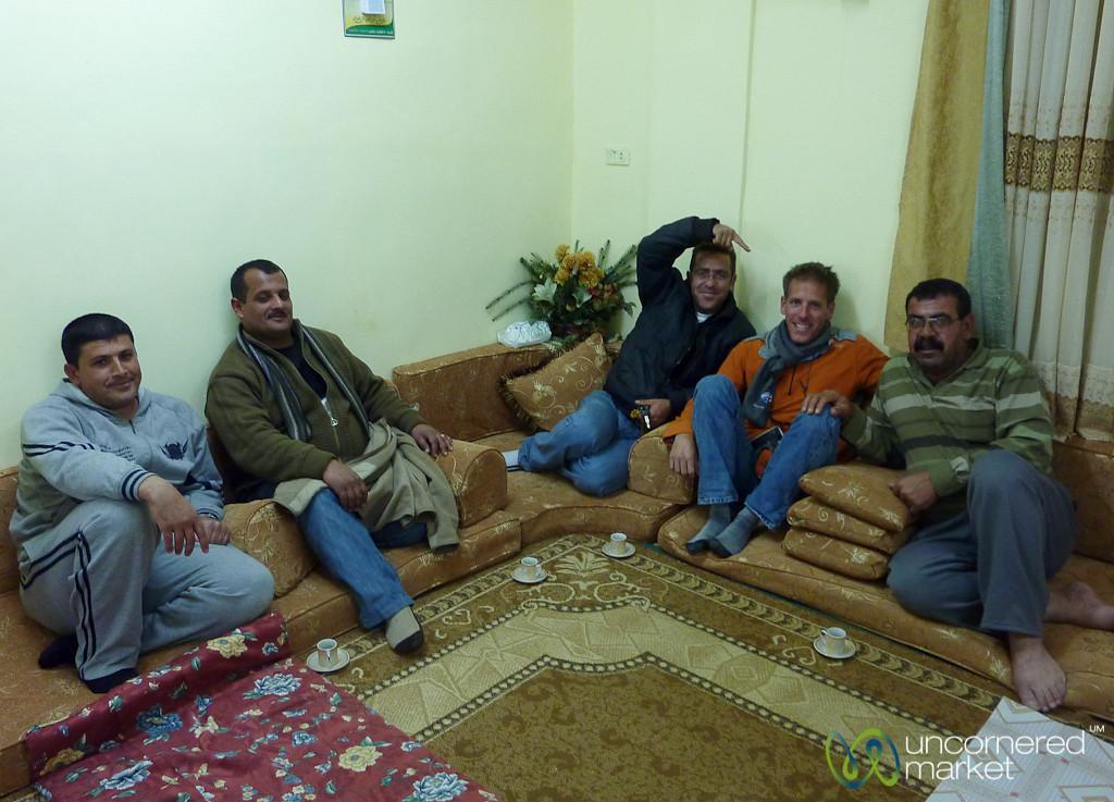 Family Dinner in Azraq, Jordan