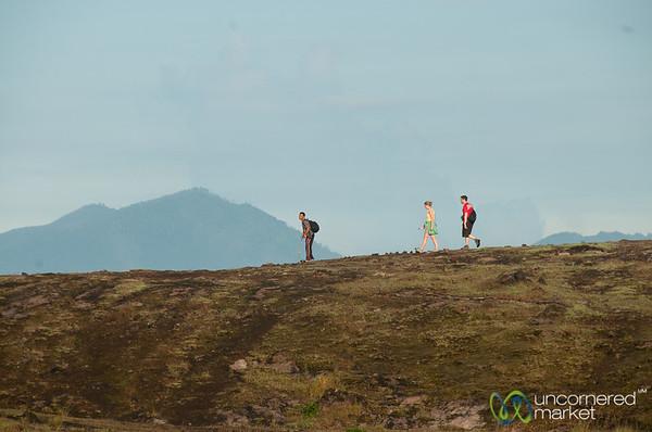 Morning Hike to Mt. Batur - Bali, Indonesia