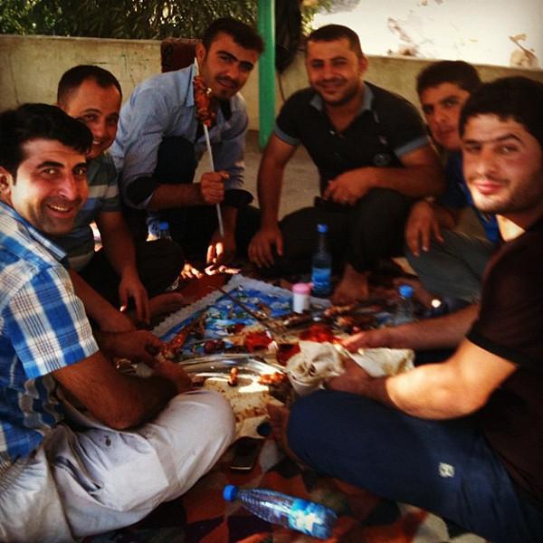 Roadside kebab restaurant in mountains of Iran. #wir #dna2iran