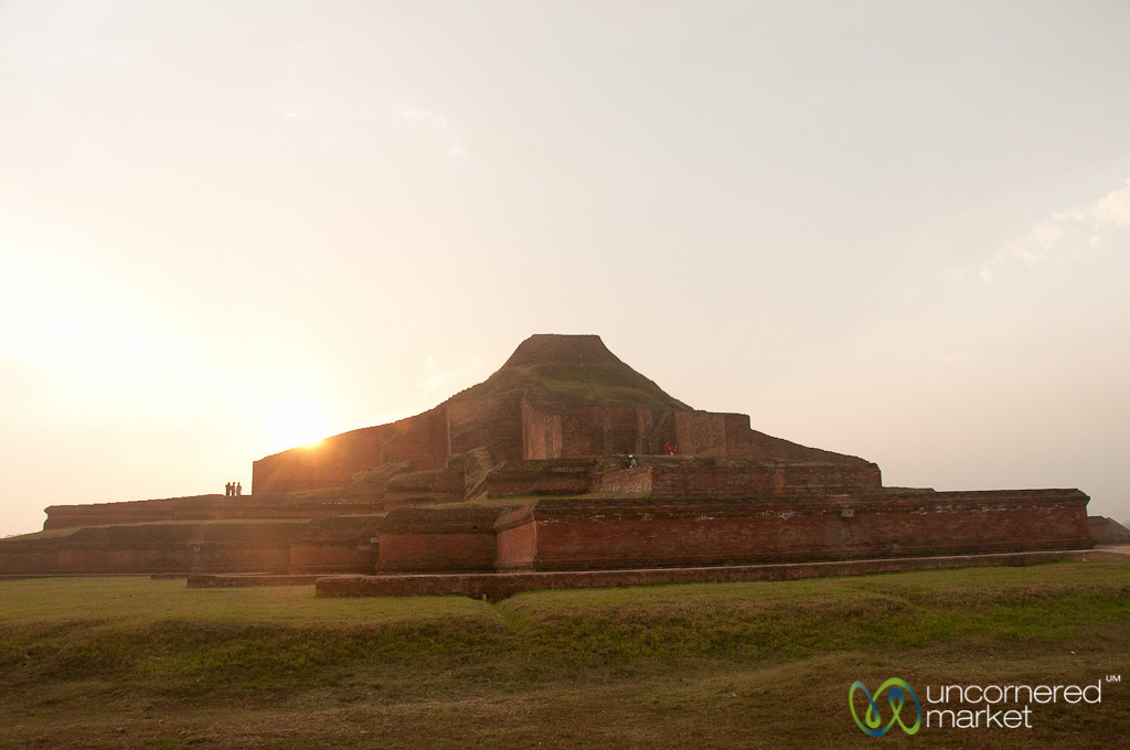 Sunset at Paharpur - Bangladesh
