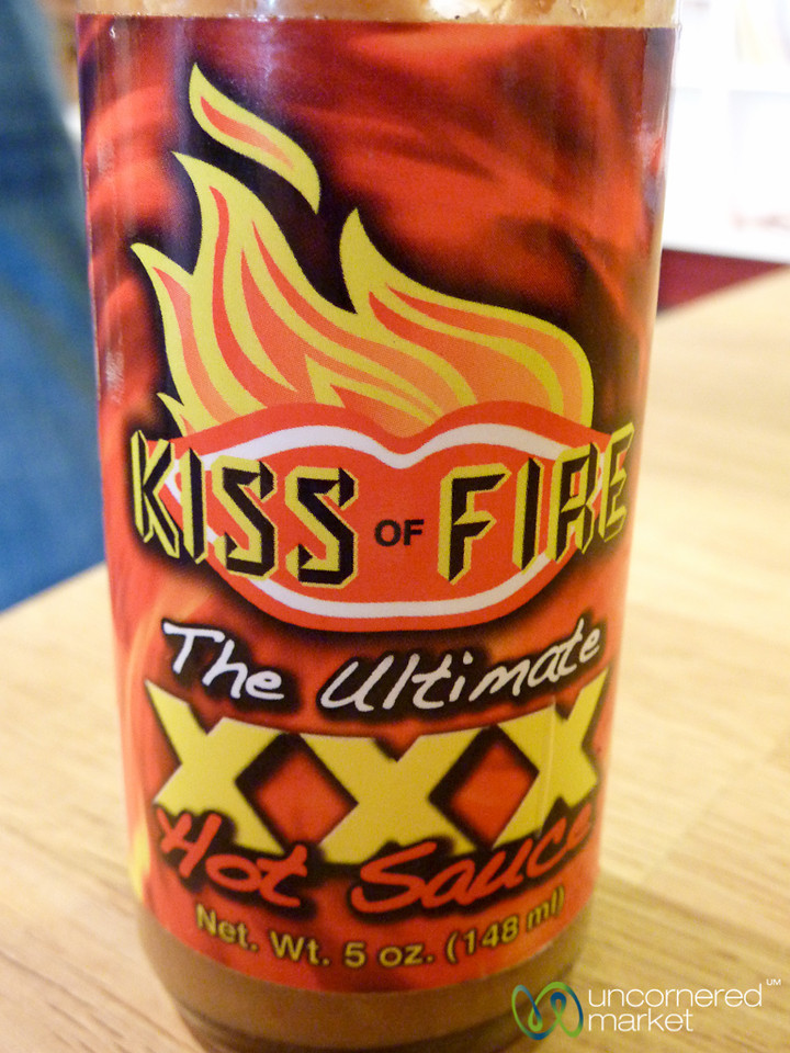 Kiss of Fire Hot Sauce - Berlin
