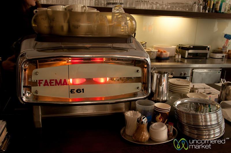 Retro Espresso Maker - Vienna, Austria