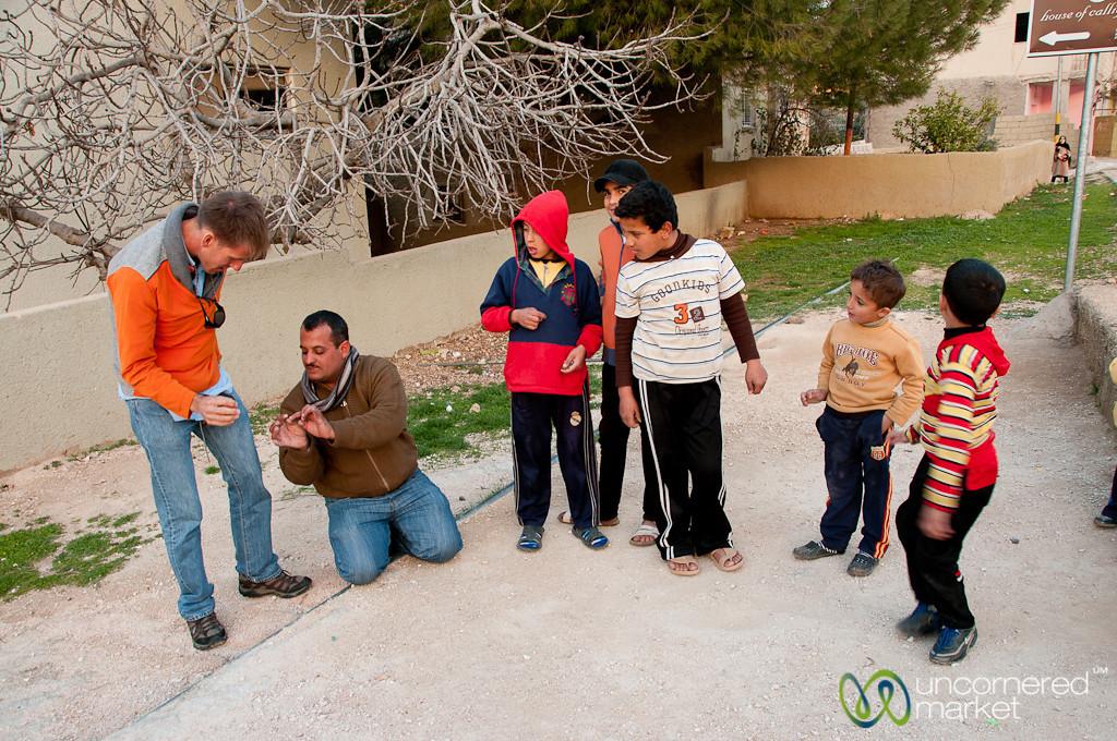Learning to Play Marbles - Rasun, Jordan