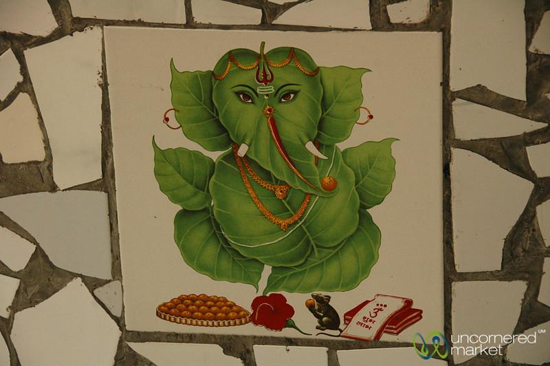 Lettuce Ganesh - Varanasi, India