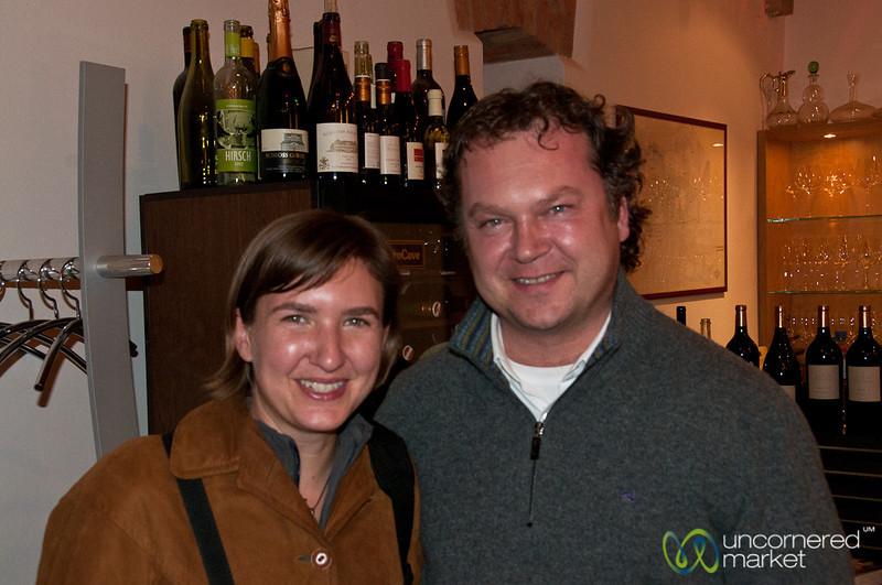 Audrey and Fritz - Vienna, Austria