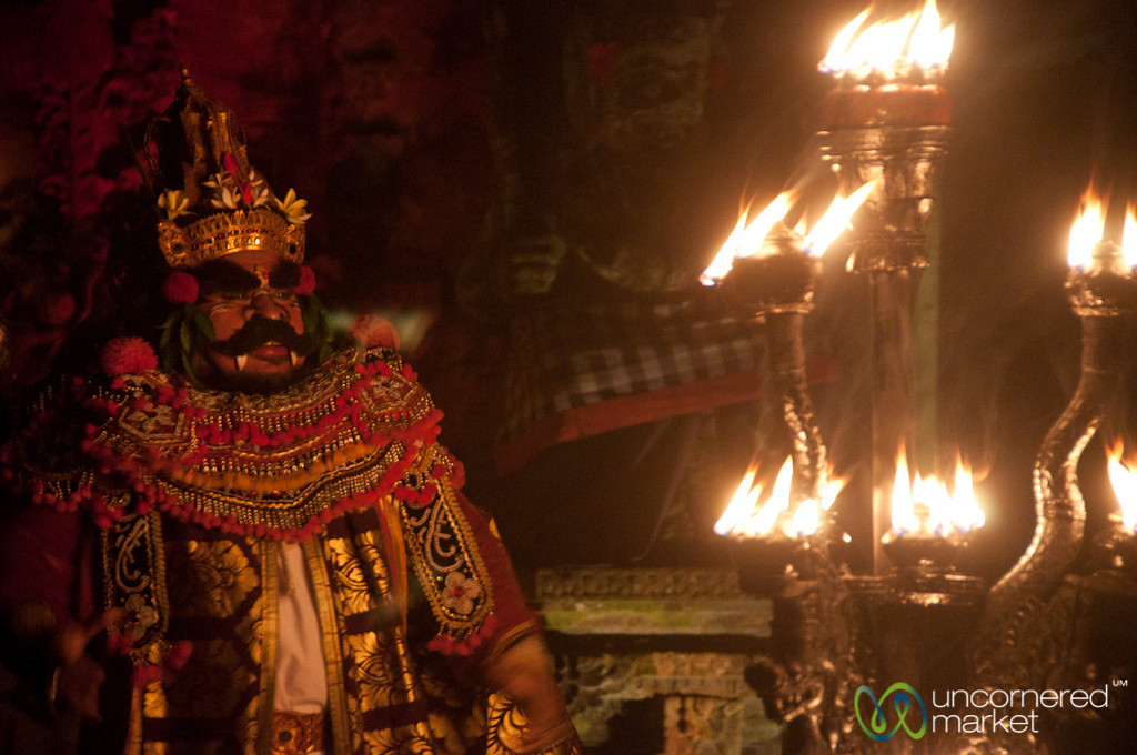 The Evil Giant at Kecak Show - Ubud, Bali
