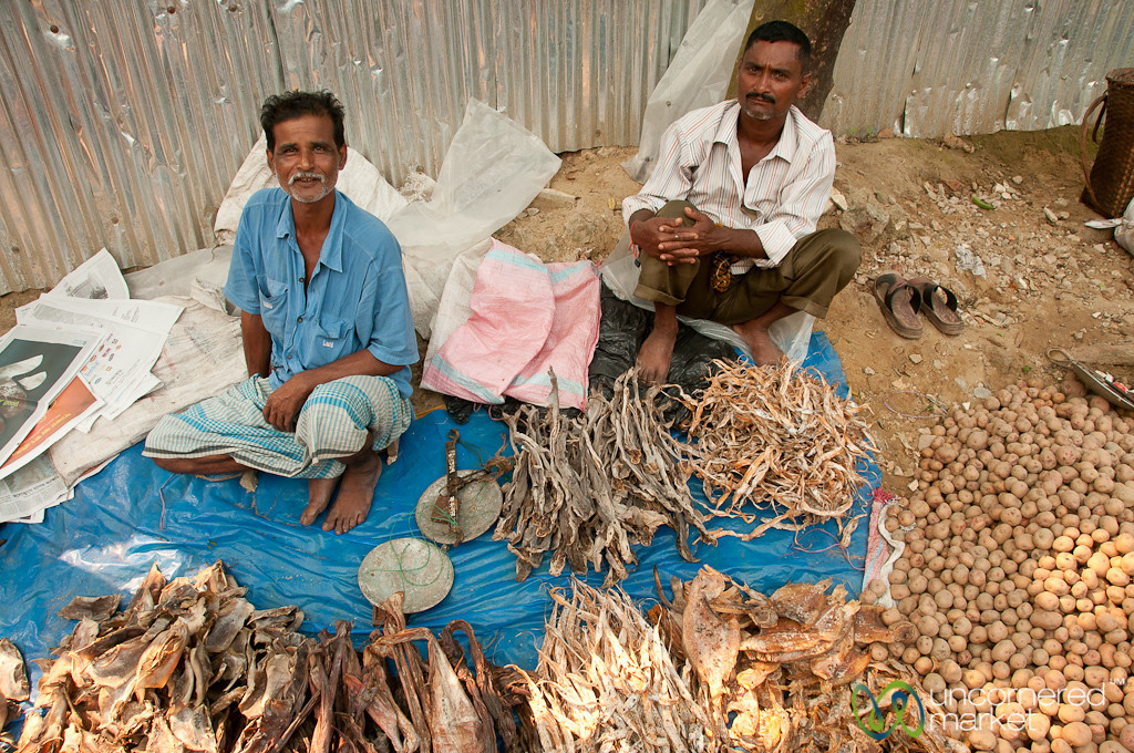 Dried Fish Stand - Bandarban, Bangladesh