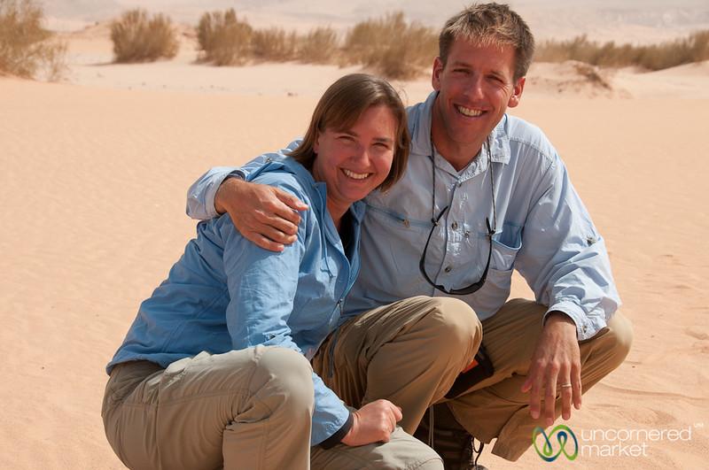 Hanging in the Deserts of Jordan