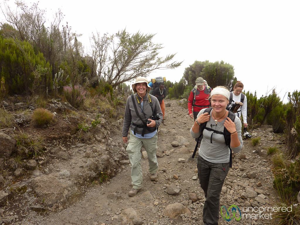 Almost Finished with Day 2 - Kilimanjaro, Tanzania