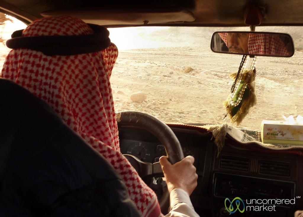 Riding Around in a Bedouin Truck - Feynan, Jordan