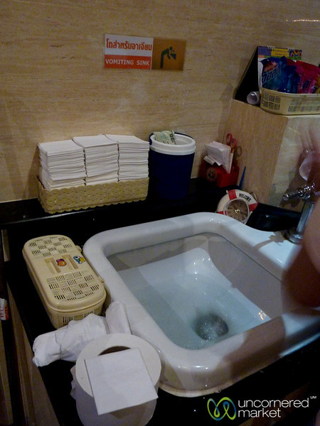 A Vomiting Sink?! Bangkok, Thailand