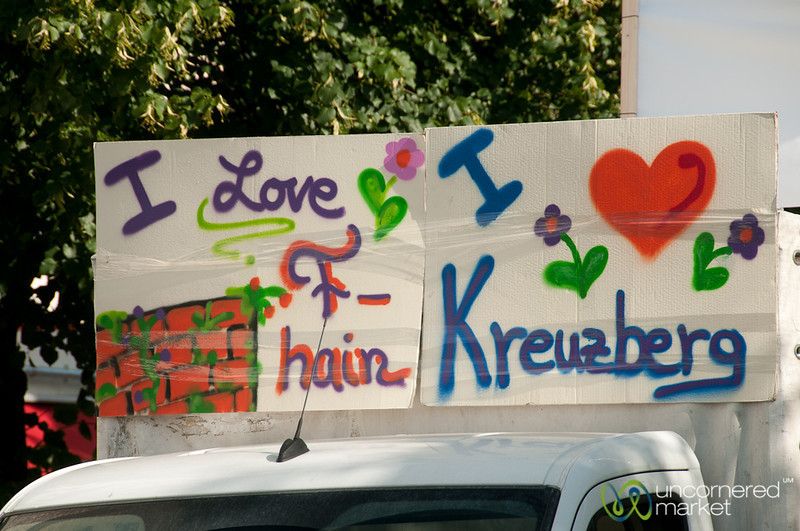 Kreuzberg and Friedrichshain Love - Berlin, Germany