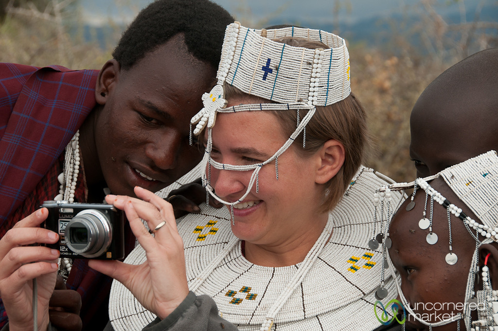 Audrey Shares Photos in Masai Village - Lake Manyara, Tanzania