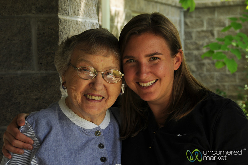 Audrey and Oma