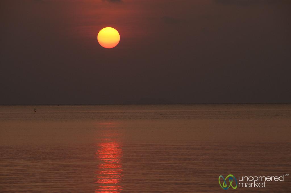 Sunshine Ball of Fire - Koh Samui, Thailand