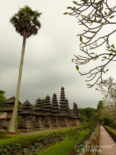 Row of Pagodas at Taman Ayun - Bali, Indonesia
