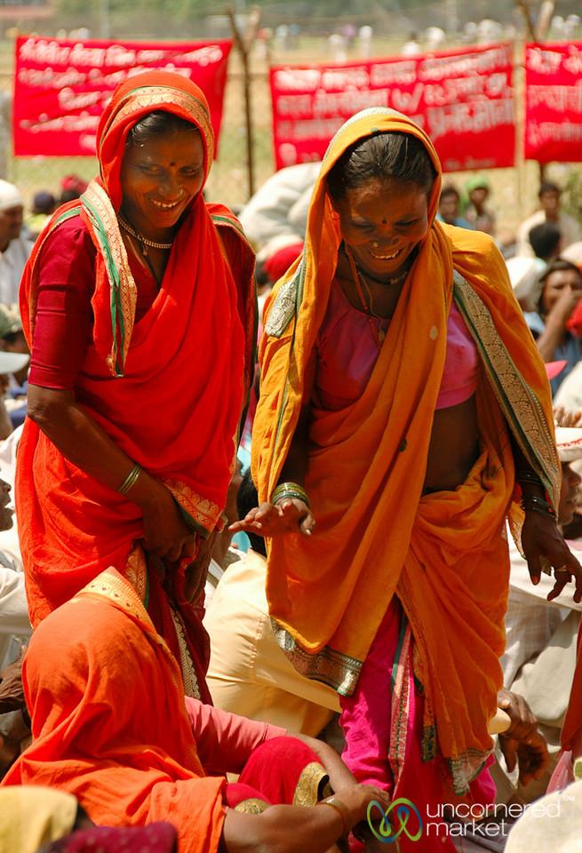 Women at the Rally - Mumbai, India