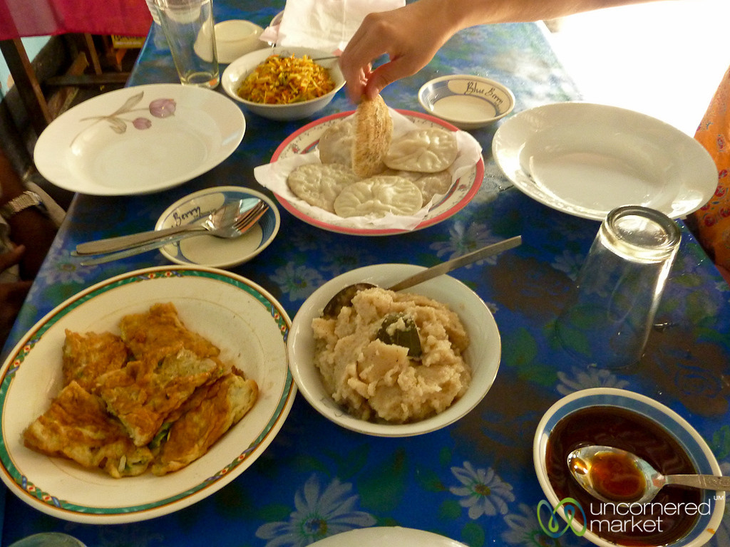 Decadent Bangladeshi Breakfast - Hatiandha, Bangladesh