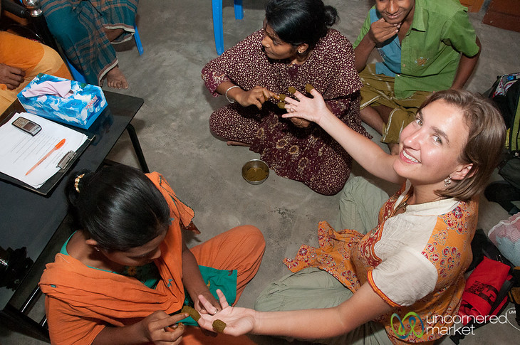 Mehndi (Henna) Night with Girls in Hatiandha, Bangladesh