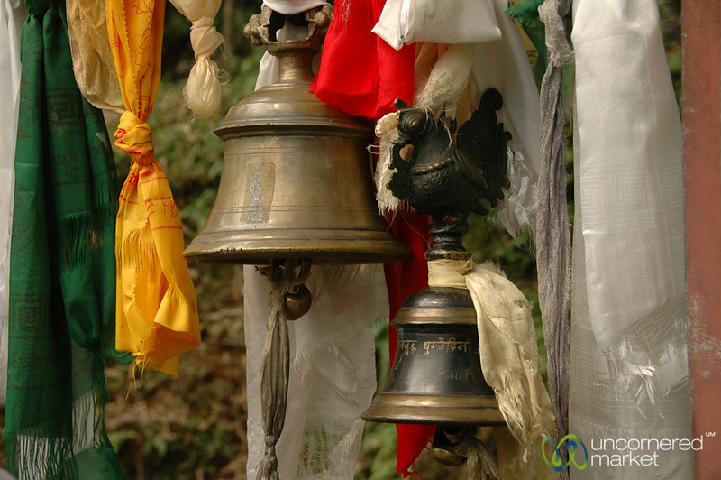Bells and Prayer Flags - Lake Khecheopalri, Sikkim