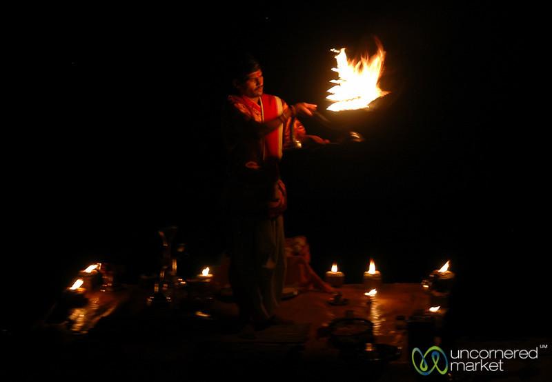 Ganga Aarti Ceremony - Varanasi, India