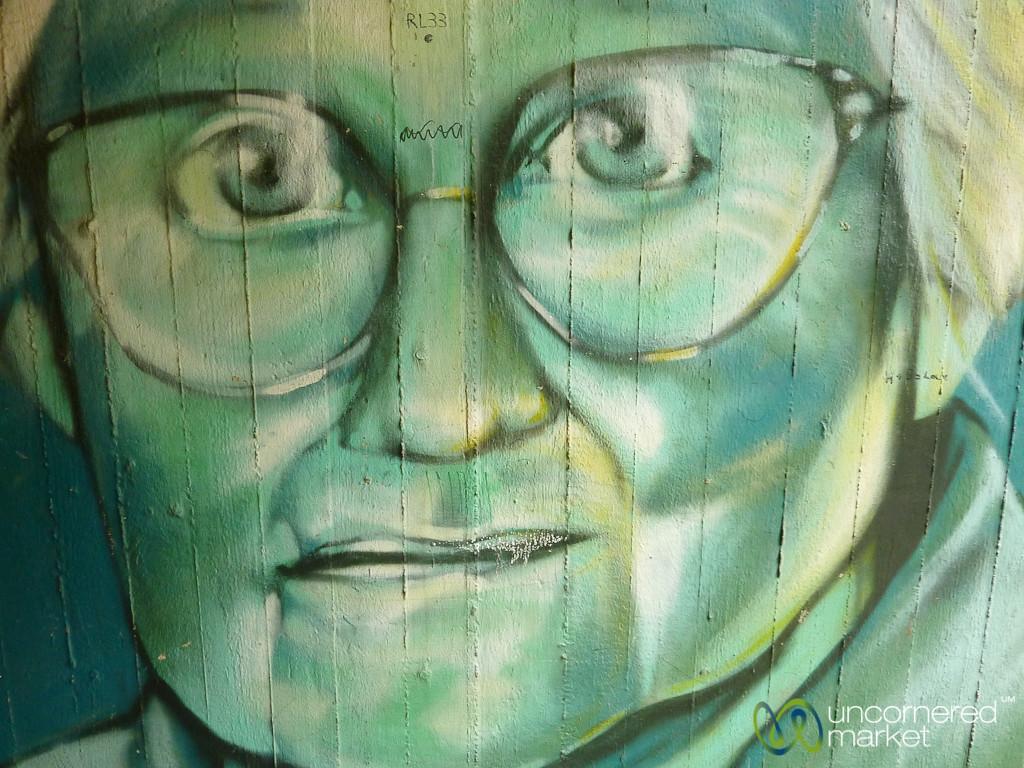 Glasses and Big Eyes - Street Art in Berlin, Germany