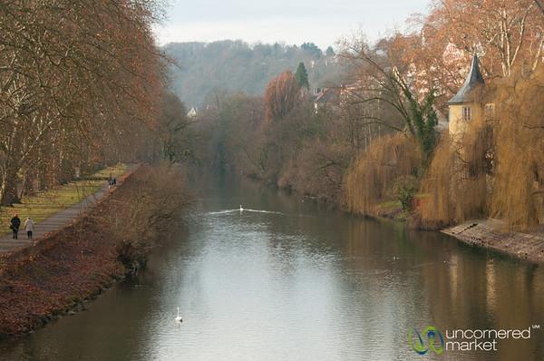 Tübingen on a Winter Day - Baden-Württemberg, Germany
