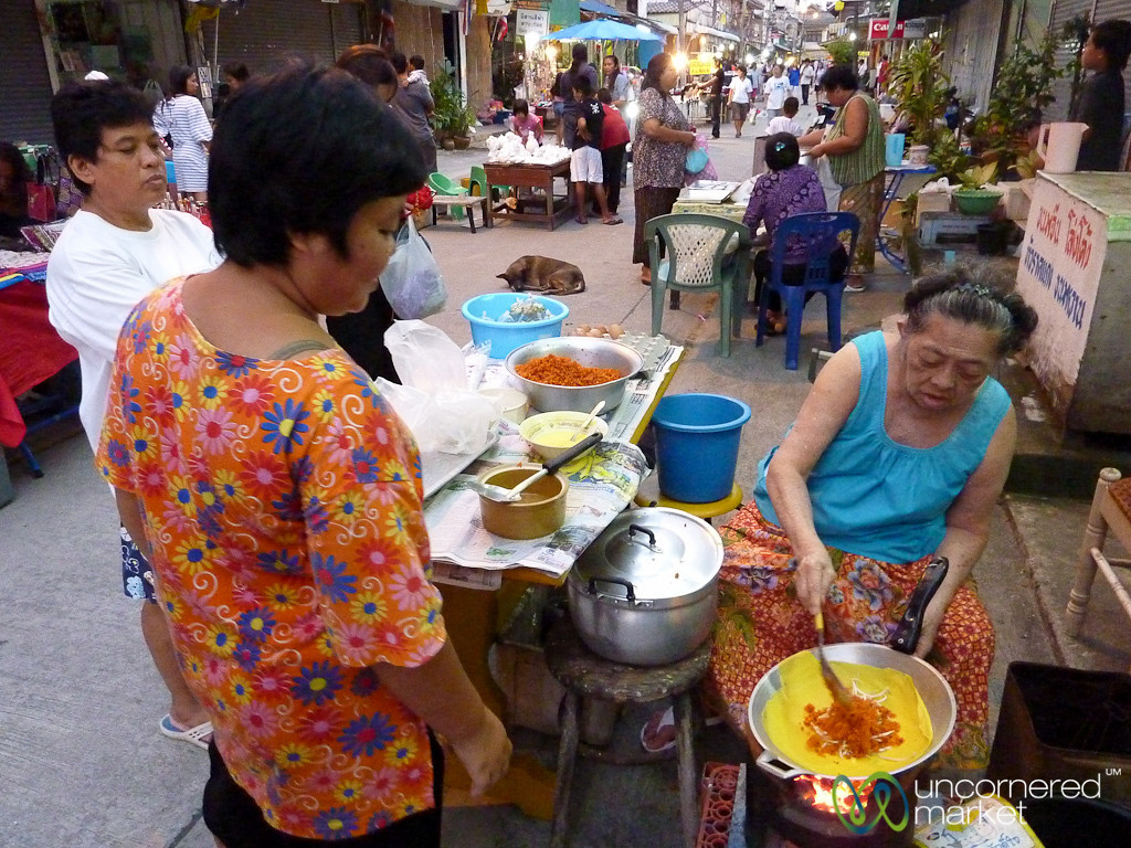 Street food at Nathon's Walking Street - Koh Samui, Thailand