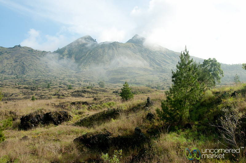 Mt. Batur from Below - Bali, Indonesia