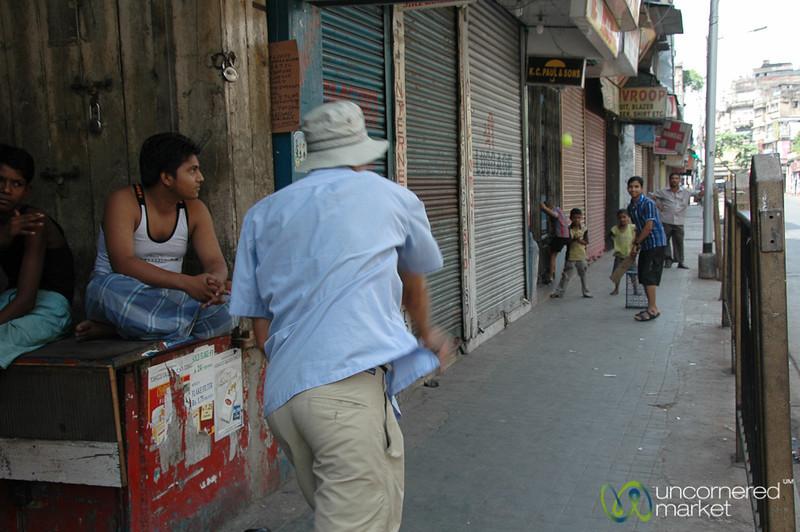 Dan Learns a Bit of Cricket - Kolkata, India