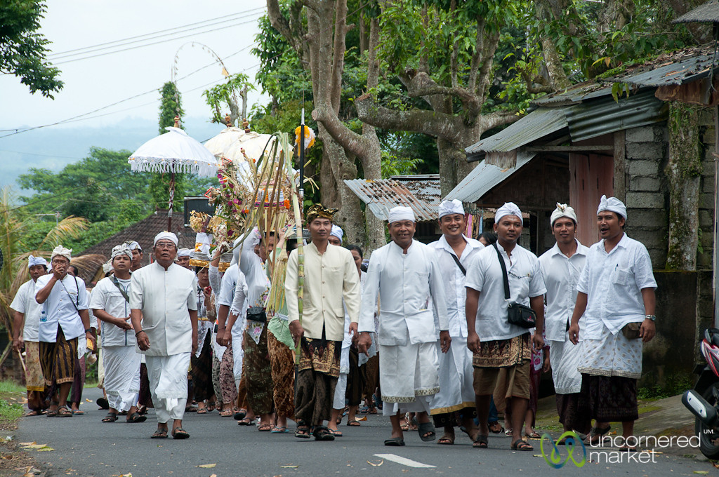 Funeral Procession at Besakih Temple - Bali, Indonesia
