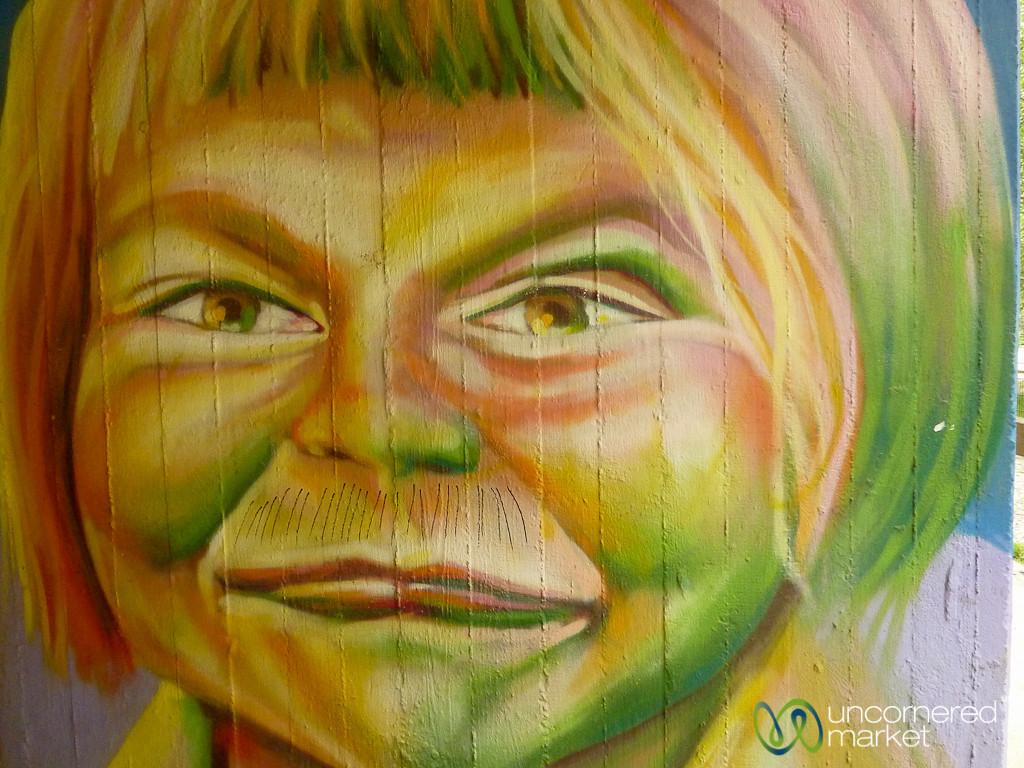 Happy or Sad? Street Art in Berlin, Germany