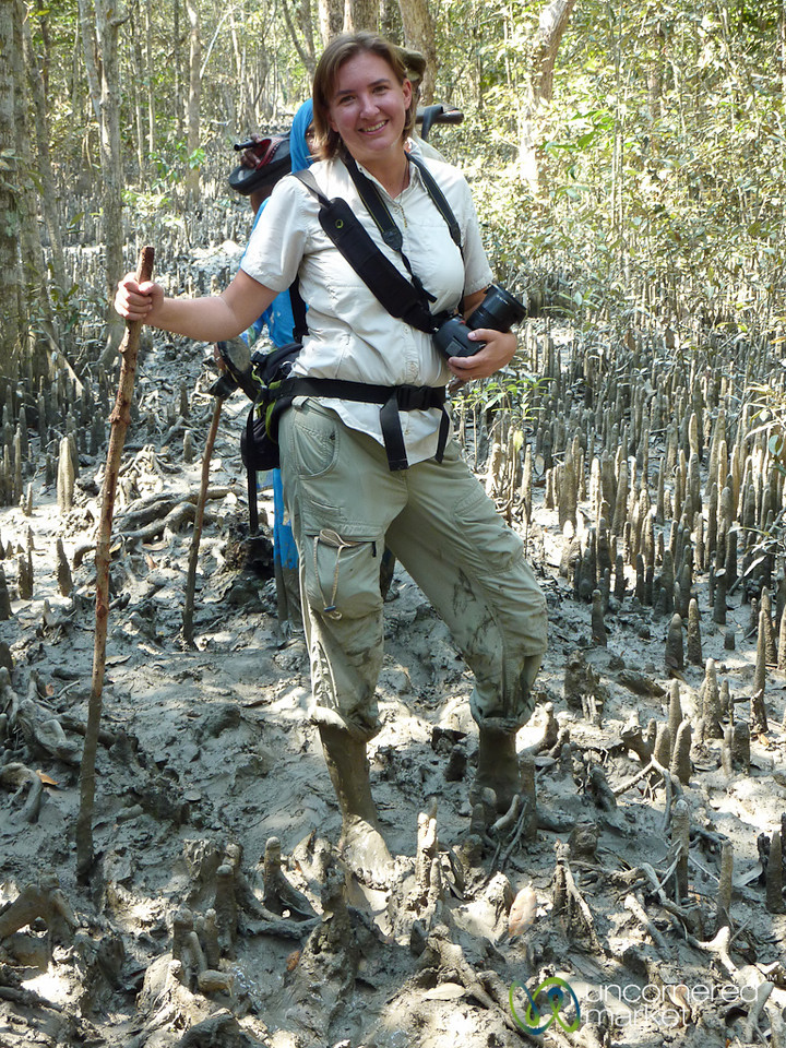 Audrey in Mangrove Forest Mud - Sundarbans, Bangladesh